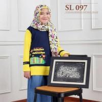 SL 097 KAOS ANAK WANITA/PEREMPUAN MUSLIMAH OUTBOND FAMILY GATHERING