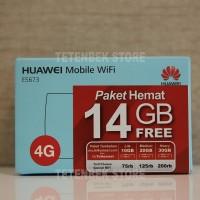 Jual Modem Mifi Wifi Router 4G UNLOCK Huawei E5673 Free Telkomsel Kuota14Gb Murah