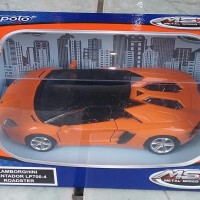 die cast apolo 1:36 lamborghini aventador LP700-4 roadster orange