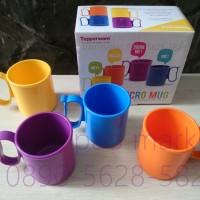 tupperware micro mug isi empat ( 4 )