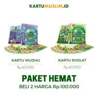 Paket Kartu Muslim (Gerakan Sholat & Gerakan Wudhu)