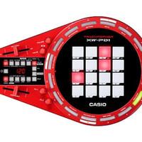 DJ controller CASIO TRACKFORMERXW-PDI/XW PD 1/XW PD1 groove center