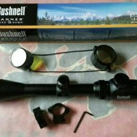 Jual Telescope Teleskop Rifle Scope Senapan Bushnell 3-9x40 RGB Murah