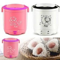 KE006 MINI RICE COOKER 1.2L PENANAK NASI PORTABLE TRAVEL RICE COOKER