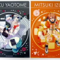 I-Kuji Idolish 7 ~King Pudding~ Clear File Set - Gaku dan Mitsuki