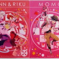 I-Kuji Idolish 7 ~King Pudding~ Clear File Set - TennRiku dan Momo
