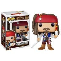 Jual Pirates of the Caribbean Captain Jack Sparrow Funko Pop 172 vinyl figu Murah