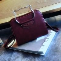 Jual Mini Sling Bag 4470  Korea Style Tas Selempang Wanita Import Murah Murah
