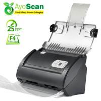 Scanner Otomatis Plustek PS286+ - Folio/F4 - 27 lbr/menit