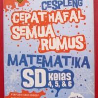 CARA CESPLENG CEPAT HAFAL SEMUA RUMUS MATEMATIKA SD KELAS 4, 5 & 6 -Ra