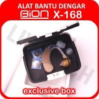 BION ALAT BANTU DENGAR X-168 / Hearing Aid X168 Tipe BTE/Cantel Murah