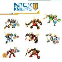 Jual Lego Cina Bricks Nexo Knight robot SY-Clay /Aron /Axl /Macy Murah