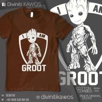 Jual T-SHIRT (KAOS) Guardian of Galaxy - I'm Groot Murah