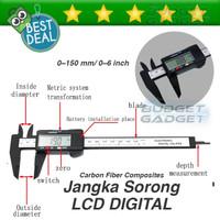 Jangka Sorong Digital Vernier Caliper with LCD Screen