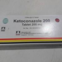 Obat Alergi jamur Ketoconazole tablet 200mg