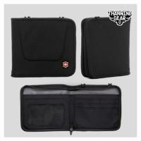 dompet victorinox zip around travel wallet original