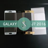 Samsung Galaxy J7 2016 J710 | Full Screen Cover Tempered Glass Warna