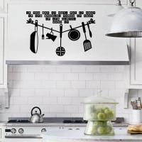 Cutting Sticker If Dirty Wash Kitchen Stiker Dapur Rumah Cafe Dinding