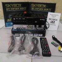 Jual Set Top Box SkyBox H1 DVB T2 Tv Digital GRATIS HDMI+KABEL LOOP OUT Murah