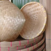 Caping Bambu (Topi Bambu Petani)