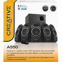 Creative SBSA550/SBS A550 5.1 Surround Sound Multimedia Speaker System