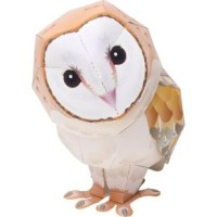 [Animals] Barn Owl Miniature Papercraft