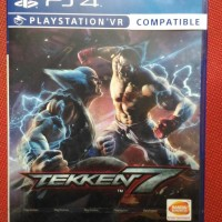kaset game bd ps4 ps 4 new baru tekken 7 teken playstation bnib segel