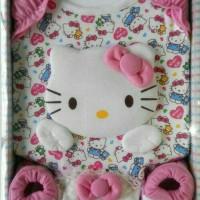 Jual Paket Perlengkapan Bayi Baru Lahir Hello Kitty Pink / Baby Gift Set Murah