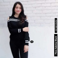 Sweater Jumper Flora Sabrina Wanita