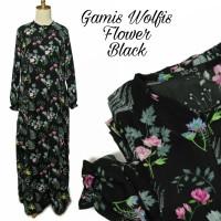 Gamis Muslimah Wolfis Flower