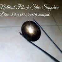 Jual Natural Black Star Sapphire (BM.001.Ls) Murah