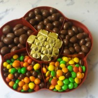 Coklat Delfi Silverqueen Tray Bunga Sekat 6