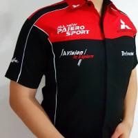 Baju Seragam Otomotif PAJERO Baju Komunitas Moto GP Kemeja Bordir F1