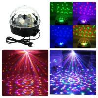 RGB Lampu Disco Crystal Magic Ball LED 20W