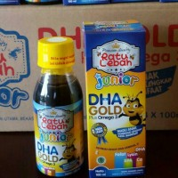 Madu Anak RATU LEBAH JUNIOR DHA GOLD Plus Omega 3