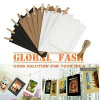 frame foto / wooden clip / frame gantung / souvenir ultah