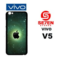 Casing HP VIVO V5 Apple LOGO iPhone Custom Hardcase Cover