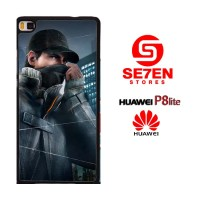 Casing HP HUAWEI P8 LITE watch dogs aiden Custom Hardcase Cover