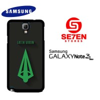 Hardcase Custom Casing Samsung Galaxy Note 3 Neo Green Arrow Case Cove