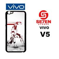 Casing HP VIVO V5 Robot iPhone 6 Wallpapers Custom Hardcase Cover