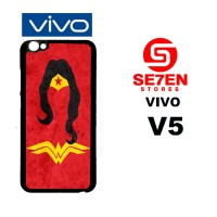 Casing HP VIVO V5 wonder woman 3 Custom Hardcase Cover
