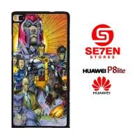 Casing HP HUAWEI P8 LITE the X Men & Magneto Custom Hardcase Cover