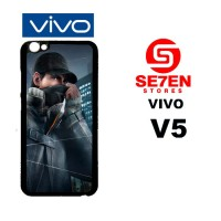 Casing HP VIVO V5 watch dogs aiden Custom Hardcase Cover