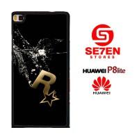 Casing HP HUAWEI P8 LITE rockstar games logo Custom Hardcase Cover