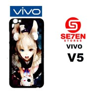 Casing HP VIVO V5 Anime Wallpaper 90 Custom Hardcase Cover
