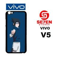 Casing HP VIVO V5 Sasuke Squad 7 Minimalist Custom Hardcase Cover