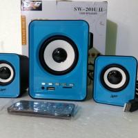 Harga speaker multimedia 2 1 suport dvd hp laptop | Pembandingharga.com