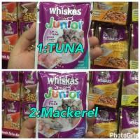 Whiskas Junior 85gr Pouch Wet Cat Food Tuna & Mackerel