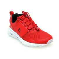 League Vader M Sepatu Lari - Flame Scarlet- Putih- Hitam