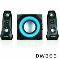 Jual Speaker Aktif DAZUMBA DW366 with Bluetooth, USB+SD/MMC Murah
